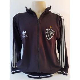 Agasalho retrô Atlético Mineiro Preto Adidas - Confecção em até 18 dias úteis.