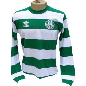 Camisa Retrô do Palmeiras 1984 de goleiro -  Confecção em até 18 dias úteis.