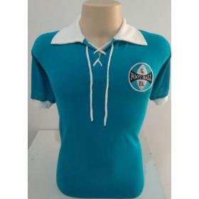 Camisa Retrô do Grêmio 1910 cordinha - Confecção em até 18 dias úteis.