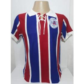 Camisa retrô do Bahia Cordinha - Confecção em até 18 dias uteis