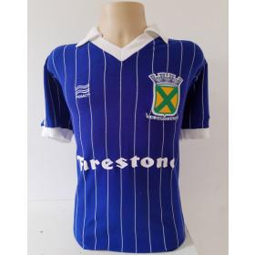 Camisa Retrô do Santo André 1985 Azul - Confecção em até 18 dias úteis