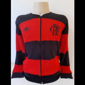 Agasalho retrô do Flamengo Rubro Negro - Confecção em até 25 dias úteis.