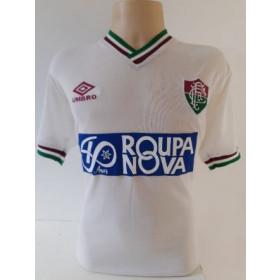 Camisa Retrô do Fluminense Roupa Nova Branca - Confecção em até 18 dias úteis.