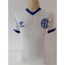 Camisa Retrô do Confiança branca - Confecção em até 18 dias úteis.