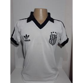 Camisa Retrô do Ceará Polo Branca - Confecção em até 18 dias úteis.