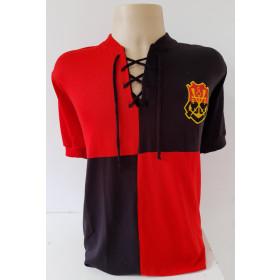 Camisa Retrô do Flamengo Papagaio - Confecção em até 18 dias úteis.