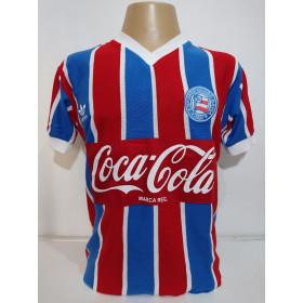 Camisa Retrô do Bahia 1988 Tricolor - Confecção em até 18 dias úteis.