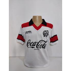 Camisa Retrô do Athletico Paranaense 1993 Branca - Confecção em até 18 dias úteis.