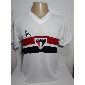 Camisa retrô do São Paulo 1983 Le Coq - Confecção em até 18 dias úteis.