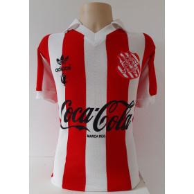 Camisa Retrô do Bangu listrada Coca cola - Confecção em até 18 dias úteis.