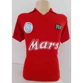 Camisa Retrô do Napoli 1989 Vermelha - Confecção em até 18 dias úteis.