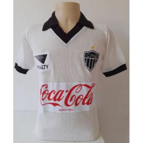 Camisa Retrô do Atlético Mineiro Penalty - Confecção em até 18 dias úteis.