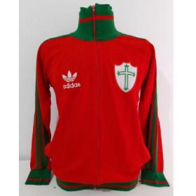 Agasalho retrô da Portuguesa Adidas - Confecção em até 25 dias úteis.