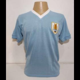 Camisa Retrô da Seleção do Uruguai 1950 - Confecção em até 18 dias úteis.