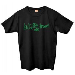 Camiseta Engenheiros do Hawaii - Logo Verde