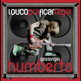 Vinil Compacto Humberto Gessinger - Louco Pra Ficar Legal - c/ autógrafo personalizado
