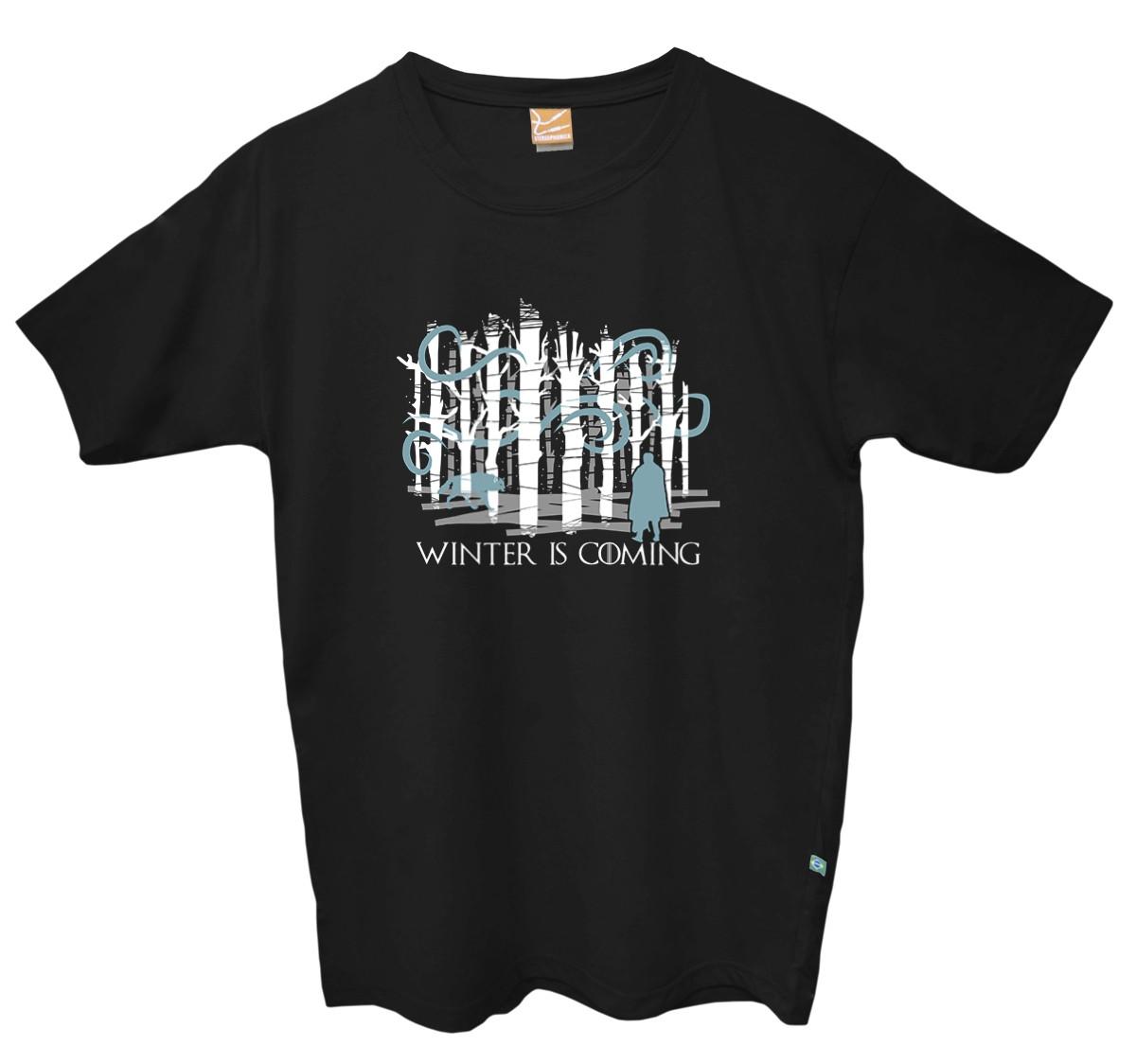 Camiseta Game of Thrones - Stark