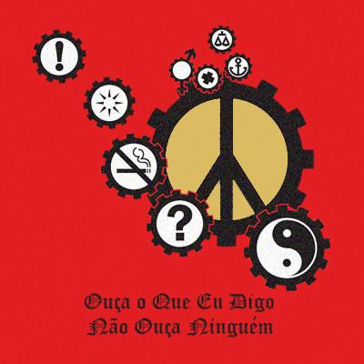 Camiseta HG - Ouça o que eu digo, não ouça ninguém (PRAZO P/ ENVIO - ATÉ 5 DIAS ÚTEIS)