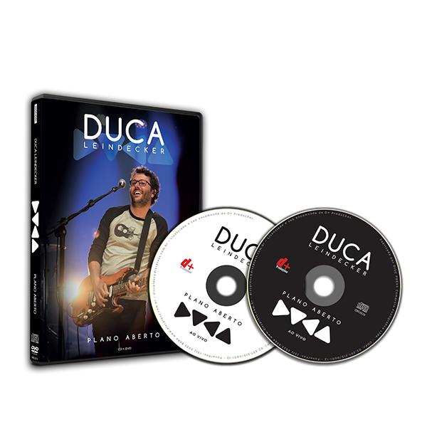 DVD + CD Duca Leindecker Plano Aberto - Envio Imediato