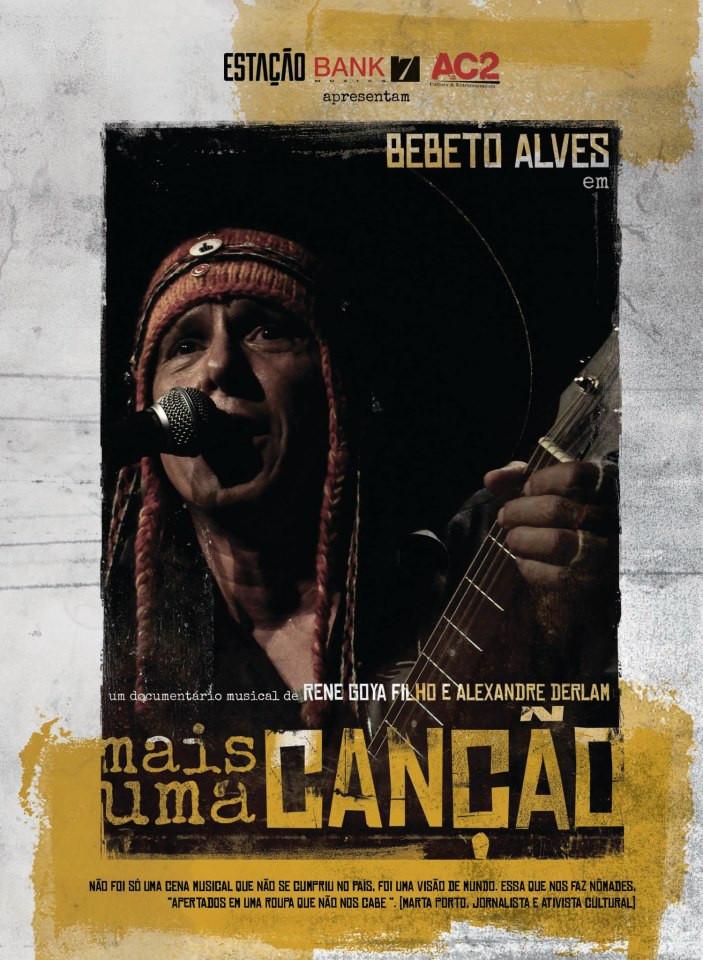 DVD Mais Uma Canção - Bebeto Alves