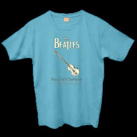 Camiseta Beatles Instruments - Paul McCartney