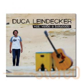 CD Voz, violão e batucada - Duca Leindecker - Digipack