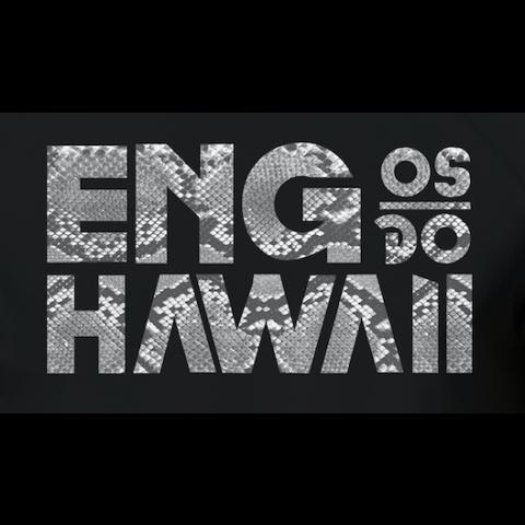 Camiseta Engenheiros do Hawaii - Snake