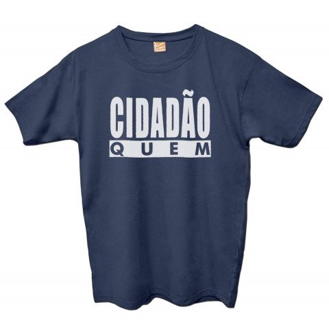 Camiseta Cidadão Quem - logo