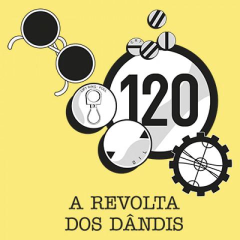 Camiseta HG - A Revolta dos Dândis  (PRAZO P/ ENVIO - ATÉ 5 DIAS ÚTEIS)