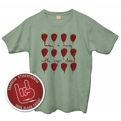 Camiseta The Beatles - Strawberry Fields Forever