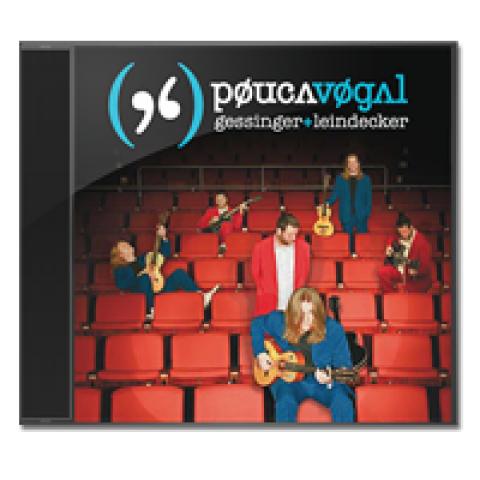 CD Pouca Vogal - Ao Vivo em Porto Alegre [Frete Grátis]