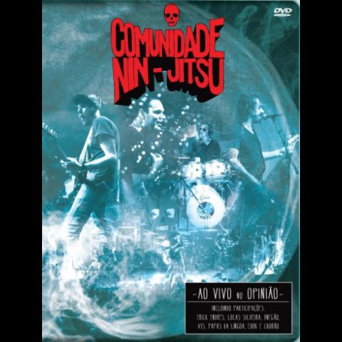 DVD Comunidade Nin-Jitsu ao vivo no Opinião