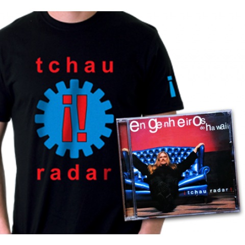 KIT Camiseta + CD  ¡Tchau Radar!