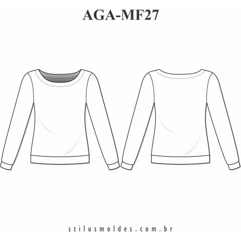 BLUSA DE AGASALHO FEMININA (AGA-MF27)