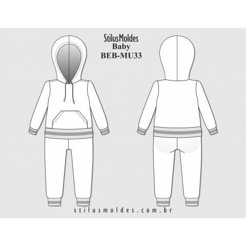 AGASALHO BEBÊ (BEB-MU33)