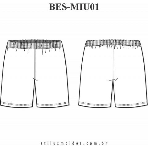 BERMUDA ESCOLAR INFANTOJUVENIL (BES-MIU01)