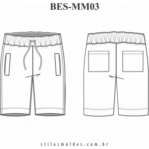 BERMUDA MASCULINA (BES-MM03)