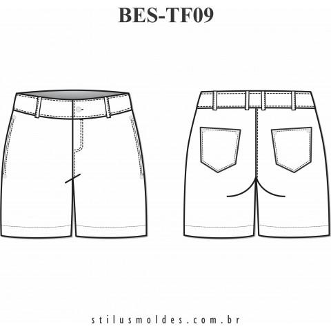 SHORTS BÁSICO (BES-TF09)