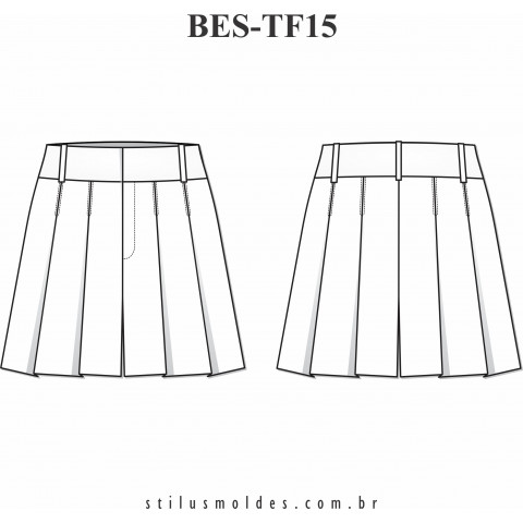 BERMUDA COM PREGAS (BES-TF15)