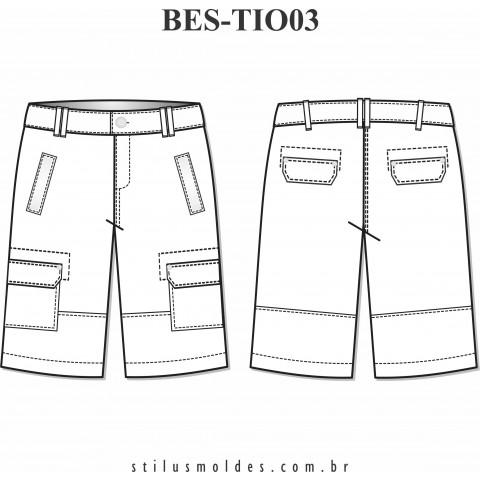 BERMUDA INFANTO-JUVENIL (BES-TIO03)