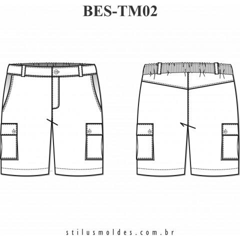 BERMUDA MASCULINA (BES-TM02)