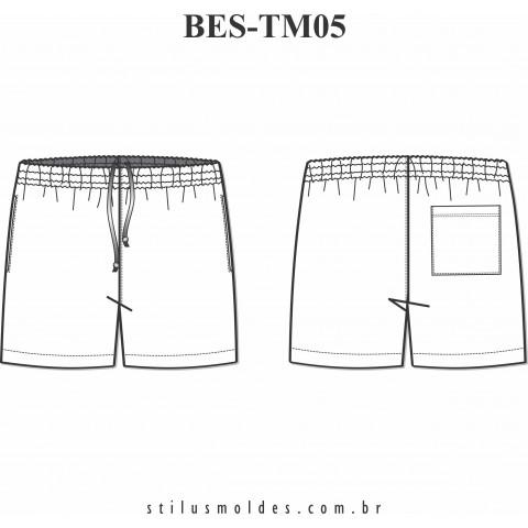 SHORTS MASCULINO (BES-TM05)