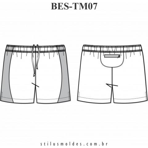 SHORTS ESPORTIVO (BES-TM07)