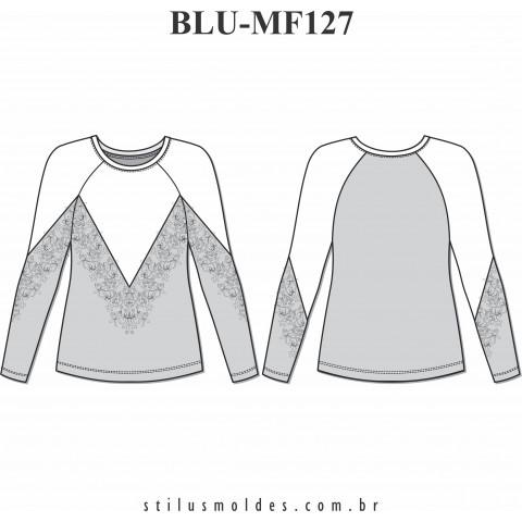 BLUSA MANGA RAGLAN (BLU-MF127)