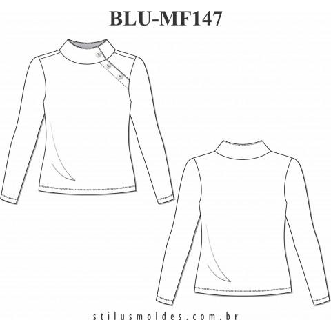 BLUSA MANGA LONGA (BLU-MF147)