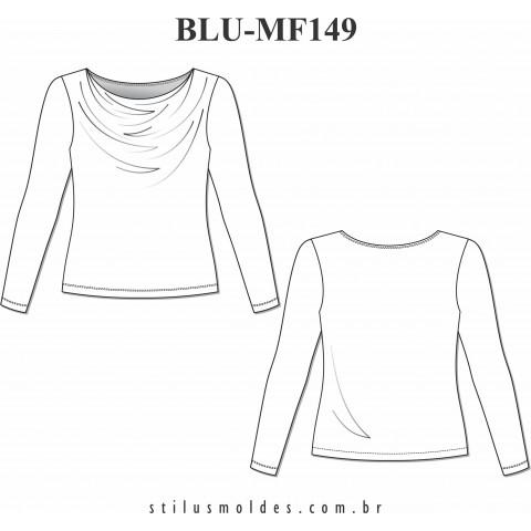 BLUSA MANGA LONGA (BLU-MF149)