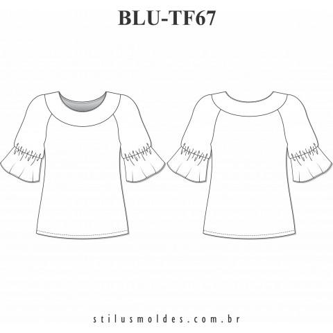 BLUSA MANGA RAGLAN (BLU-TF67)