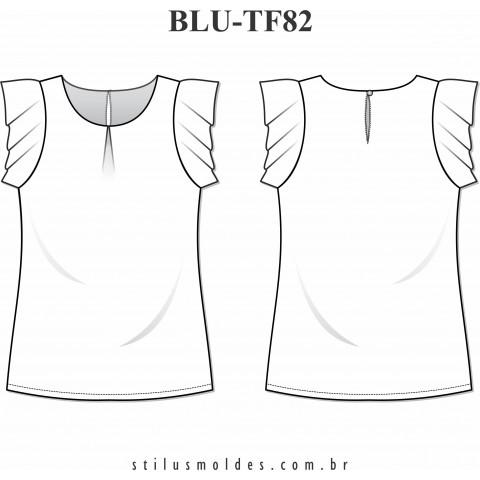 BLUSA MANGA DUPLA (BLU-TF82)
