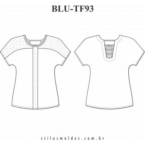 BLUSA MANGA JAPONESA (BLU-TF93)
