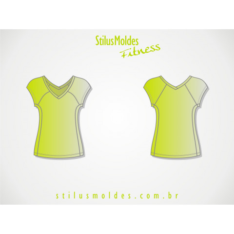 BLUSA MANGA RAGLAN FITNESS (FIT-MF23)